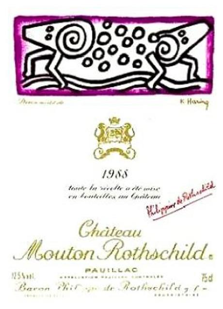 Etichete de vin moderne